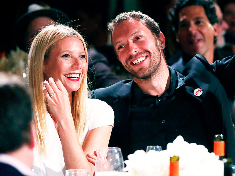 Weyneth Paltrow and Chris Martin