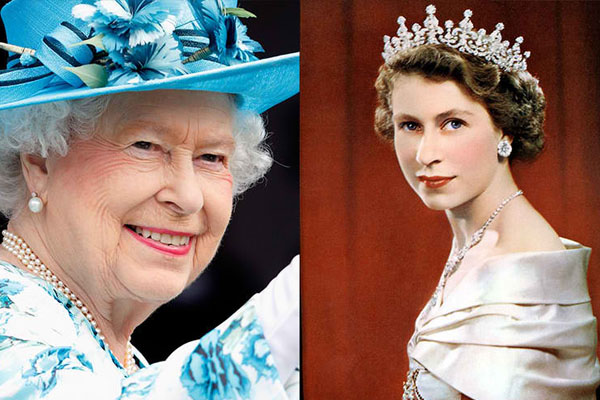 QUEEN ELIZABETH II, 91 YEARS OLD