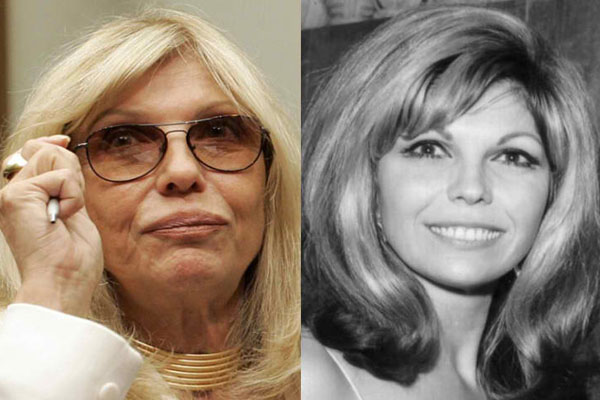 NANCY SINATRA, 78 YEARS OLD