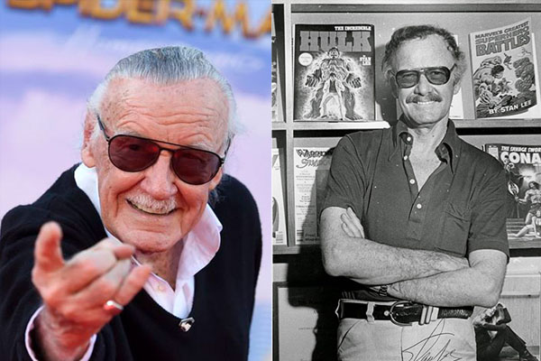 STAN LEE, 95 YEARS OLD