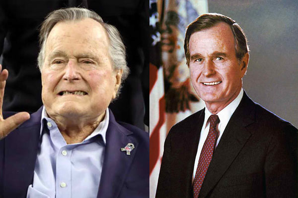 GEORGE H. W. BUSH, 94 YEARS OLD