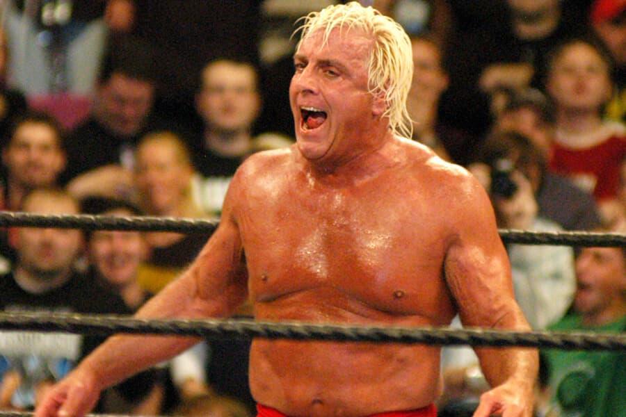 Ric Flair Versus Eric Bischoff
