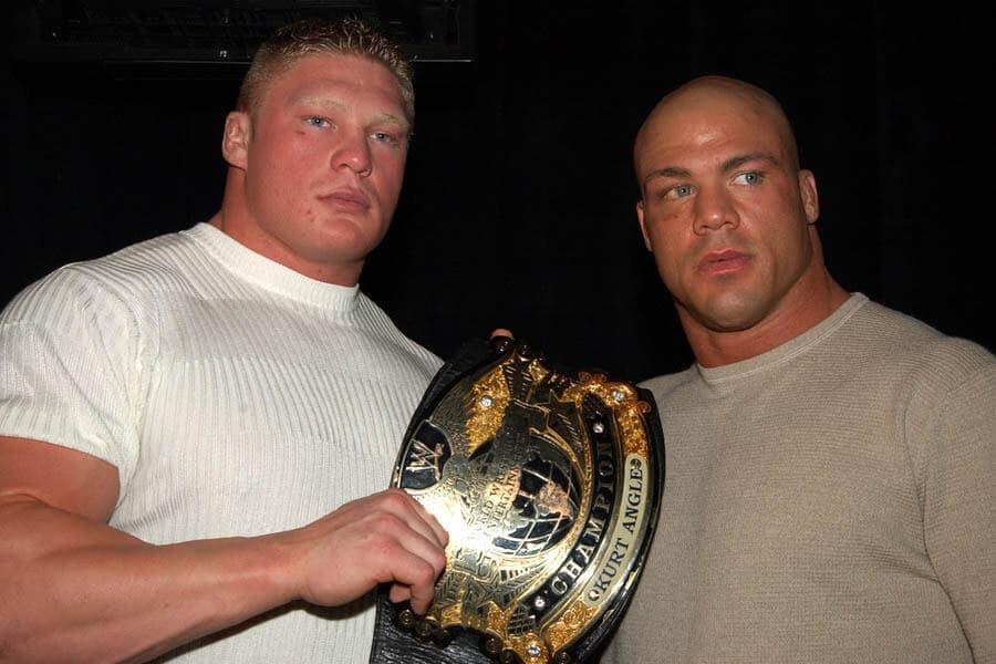 Brock Lesnar Versus Kurt Angle