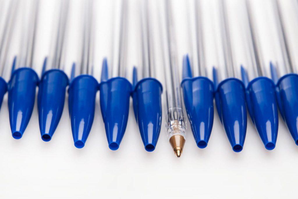 Pen Cap Holes