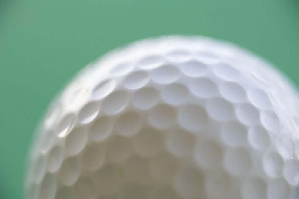 Dimples On Golf Balls