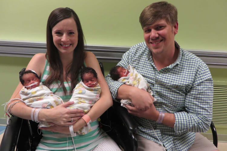 Couple Welcome Triplets But Doctor Was Puzzled About The Appearance Of The Babies